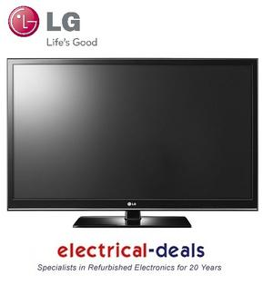 LG 42PT353 42&quot; HD Ready Razor Frame 600hz Plasma TV with Freeview Preview